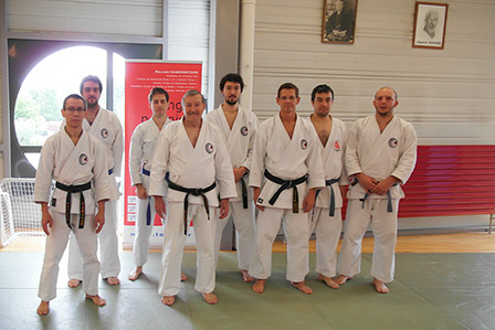 Stage de printemps 2013 - Membres du Shinkyuu Dojo